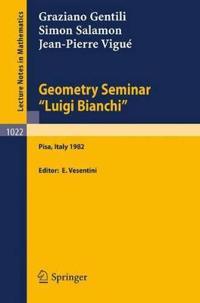 """Geometry Seminar """"Luigi Bianchi"""""""