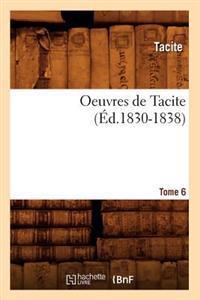 Oeuvres de Tacite. Tome 6 (�d.1830-1838)