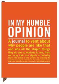 Knock Knock in My Humble Opinion Inner-Truth Journal