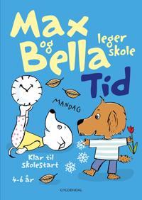 Max og Bella leger skole-Tid