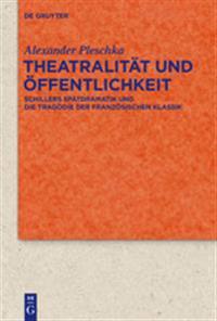 Theatralitat Und Offentlichkeit