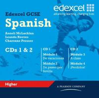 Edexcel GCSE Spanish Higher Audio CDs