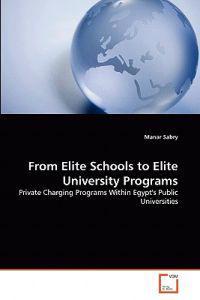From Elite Schools to Elite University Programs