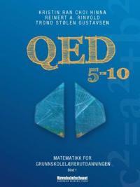 QED 5-10; atematikk for grunnskolelærerutdanningen; bind 1