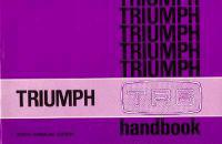 Triumph TR6 Official Owners' Handbook