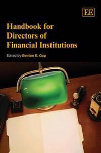 Handbook for Directors of Financial Institutions