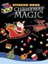 3-D Sticker Book--Christmas Magic