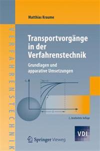 Transportvorgange in Der Verfahrenstechnik