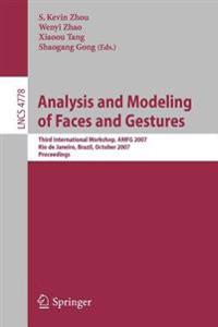 Analysis and Modeling of Faces and Gestures