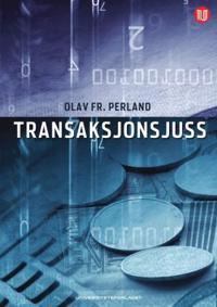 Transaksjonsjuss - Olav Fr. Perland   Inprintwriters.org
