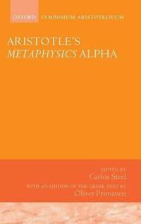 Aristotle's Metaphysics Alpha