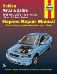 Holden Astra & Zafira 1998 Thru 2005