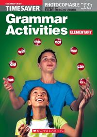 Grammar Activities Elementary