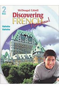 Discovering French, Nouveau!: Workbook with Lesson Review Bookmarks Level 2 [With Review Bookmarks]