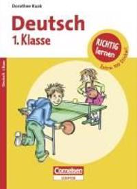 Richtig lernen 1. Klasse Deutsch