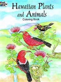 Hawaiian Plants and Animals Coloring Book