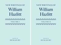 New Writings of William Hazlitt