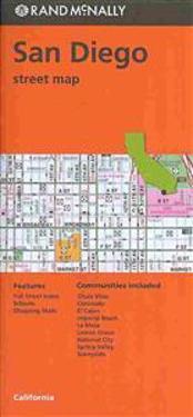 Rand McNally San Diego, California Street Map
