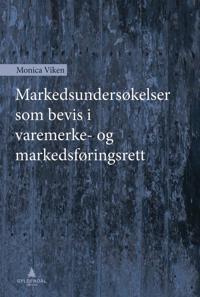 Markedsundersøkelser som bevis i varemerke- og markedsføringsrett - Monica Viken | Inprintwriters.org