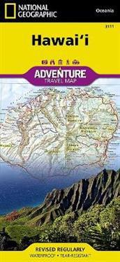 National Geographic Hawaii Adventure Travel Map