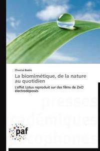 La Biomim�tique, de la Nature Au Quotidien