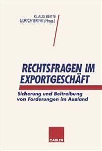 Rechtsfragen Im Exportgeschaft