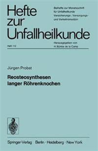 Reosteosynthesen Langer R hrenknochen