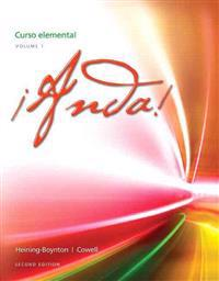 Anda! Curso Elemental, Volume 1 Plus Myspanishlab with Etext (One Semester) -- Access Card Package