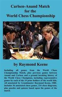 Carlsen-Anand Match for the World Chess Championship