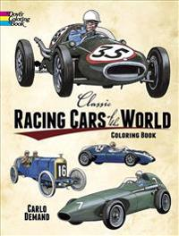 Classic Racing Cars of the World Color Book