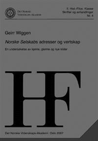 Norske selskabs adresser og vertskap