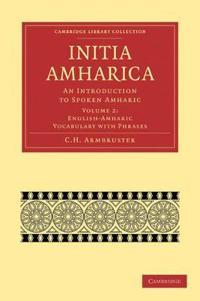 Etiopiska Sprak Bocker Adlibris