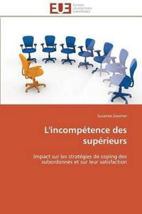 L'Incompetence Des Superieurs