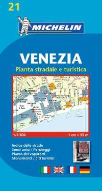Michelin Map Venice/Mestre (Venezia) #21