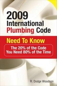 2009 International Plumbing Code