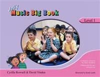 Jolly music big book - level 1 - in precursive letters