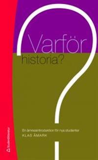Varför historia?