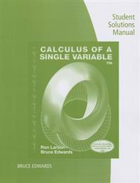 Calculus of a Single Variable: Student Solutions Manual