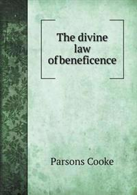 The Divine Law of Beneficence