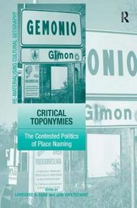 Critical Toponymies