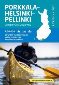Porkkala-Helsinki-Pellinki vesiretkeilykartta, 1:50 000