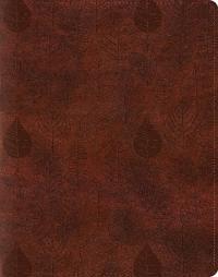 Single Column Journaling Bible-ESV-Leaves Design