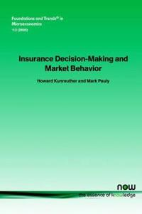 Insurance Decision Making And Market Behavior