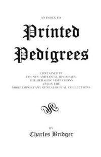 An Index to Printed Pedigrees