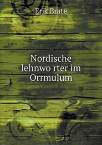 Nordische Lehnwo Rter Im Orrmulum