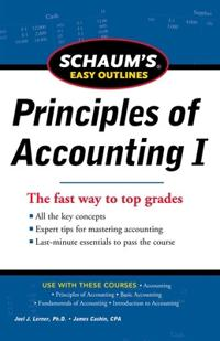 Schaum's Easy Outlines Principles of Accounting I