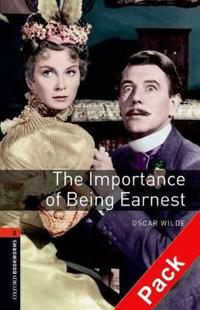 Oxford Bookworms Library: Level 2:: The Importance of Being Earnest Playscript audio CD pack