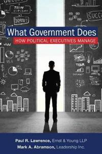 What Government Does: How Political Executives Manage