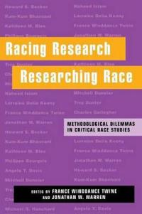 Racing Research, Researching Race