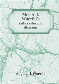 Mrs. A. J. Wuerfel's Tailors Rules and Diagrams